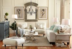 The Birch Lane Passport Collection ~ I would like everything in this room...please :-)