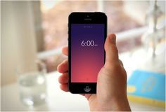 Rise is a beautiful minimalist alarm app for iPhone and iPad. Aside from its sleek design, it features a lot of useful functions and perks, including snooze with a shake or the ability create a playlist from iTunes to help you fall asleep. The most notable feature of the app, however, is the fluid gesture-friendly interface. It allows you to set and adjust the alarm time simply by tapping and sliding to the correct number. In fact, most of the actions can be