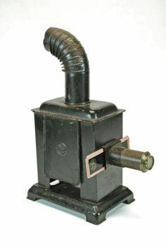 Antique Tin Magic Lantern with 8 Slides by Leonard Müller Germany   eBay