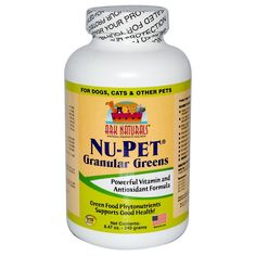 Happy pets need a healthy body. Replenish all of the essential vitamins, minerals, and antioxidants lost in your best pal-foots diet when their food is heated and processed.Ark Naturals Nu-Pet Granula