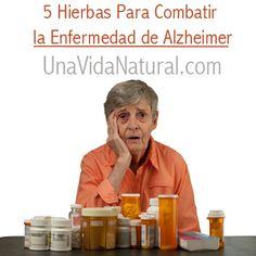 A continuación verá 5 hierbas que le ayudarán a complementar los métodos orientados a combatir Alzheimer.