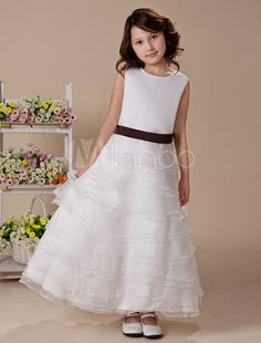 c873ac086 10 Best Strapless Sweetheart 2013 Flower Girl Dress images