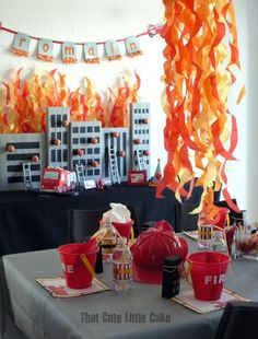 14 Best Fire And Ice Themed Party Ideas Images