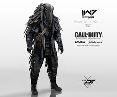Call of Duty: Infinite Warfare Concept Art by Aaron Beck Cod Infinite Warfare, Infinity Ward, Science Fiction, Call Of Duty Infinite, Black Company, Concept Art World, Future Soldier, Suit Of Armor, Armor Concept