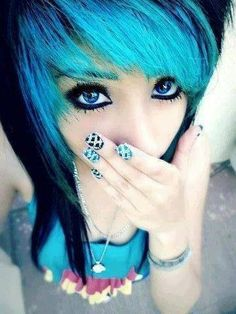 maybe alil bit darker for my hair cause its black and I would love to get this color.