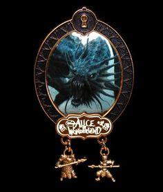 Disney Tim Burton Alice in Wonderland JABBERWOCKY PIN Limited Edition LE 100 | eBay