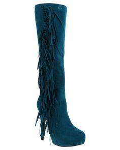 Tired of the same old black and brown boots? Then youneed this Augusta Knee High Boot byPLUM This boot is bold teal and features a high heel to elongate your figure. Pairit with knit dress and overcoat when heading out into the cold. Knee High Boots, High Heels, Brown Boots, Winter Boots, Black And Brown, Blue Green, Clothes For Women, Knit Dress, Tired