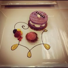 My plated dessert!