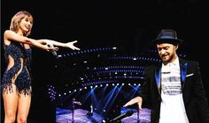Justin Timberlake Joins Taylor Swift on Stage