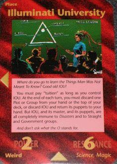 Illuminati Card Game -Illuminati University