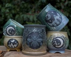 Voice of Nature - hauntedpamplemousse: sosuperawesome: Ceramics...