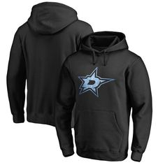 Dallas Stars Dallas Stars Big & Tall Pond Hockey Pullover Hoodie - Black