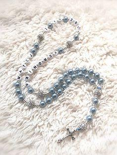 Ruženec perl. so shamballa (Nezábudkový) / MK-ozdoby - SAShE.sk Krabi, Swarovski, Beaded Bracelets, Jewelry, Jewellery Making, Jewlery, Jewelery, Jewels, Pearl Bracelet