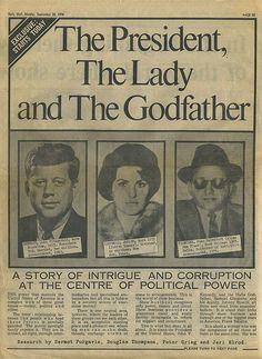 U.S. JFK, Judith Campbell & Sam Giancana story // Daily Mail, September, 20, 1976