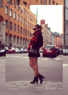 Street Style:Tartan