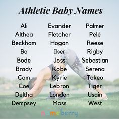 Athletic Baby Names Athletic Baby baby boy names Baby Boy Names strong Baby Baby Boy Names Strong, Cute Baby Names, Pretty Names, Unique Baby Names, Baby Girl Names, Kid Names, Baby Boy Name List, Fantasy Names, Name Inspiration