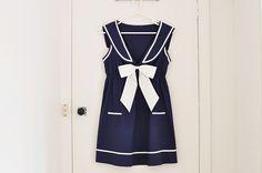 my love of nautical #fashion #dress