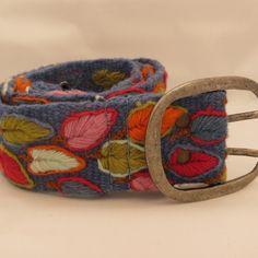 Jenny Krauss Embroidered Peruvian Belt