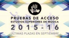 Pruebas de acceso estudios superiores de música en la Jam Session