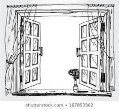 Open Window Drawing Google Search Open Window Window Sketch Window Drawing