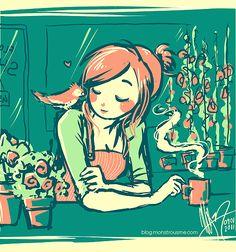 I wish I felt like this in the morning:)
