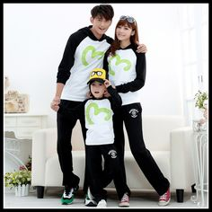 Find More Family Matching Outfits Information about Autumn 2015 New Korean Style Family Clothing Set  Long sleeved Hoodies Family Look Patchwork Mother Father Daughter Son Clothes,High Quality clothing quality,China clothing organizers Suppliers, Cheap clothing wallets from Rose Town on Aliexpress.com