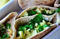 How to Serve an Outdoor Breakfast with Greek Scrambled Egg Pockets
