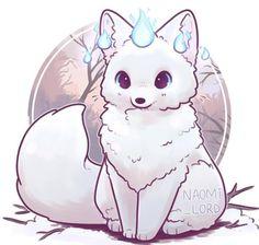 Nette u Kawaii Tierkunst kawaii cute animal animalart Cute Animal Drawings Kawaii, Cute Kawaii Animals, Kawaii Art, Kawaii Anime, Kawaii Chibi, Cute Fox Drawing, Cute Animals To Draw, Cute Drawings Of Animals, Chibi Drawing