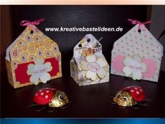 Süsse Geschenkschachteln