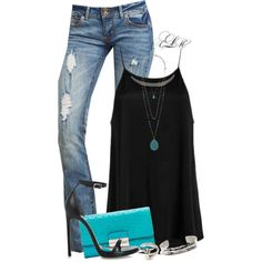 """Classic Colors"" by tmlstyle on Polyvore"