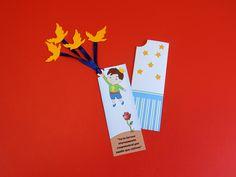 Convite modelo marca página do livro Pequeno Príncipe.