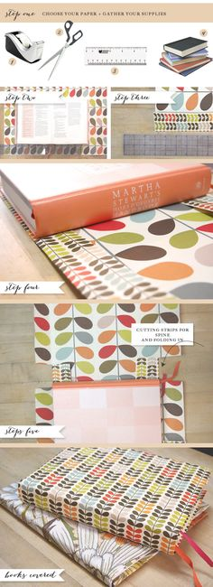 How To Cover a Book From Mayhar Designs