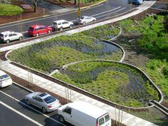 low impact parking lot design - Google Search