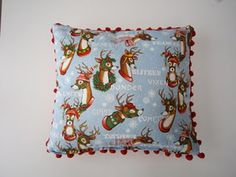 Alexander Henry Christmas cushion