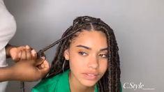 Crochet braid styles 416723771771694993 - twists avec nappyme Source by fabiolawang Faux Locs Hairstyles, Black Girl Braided Hairstyles, Twist Braid Hairstyles, African Braids Hairstyles, Twist Braids, Locks Hairstyle, Protective Hairstyles, Hair Twist Styles, Braid Styles