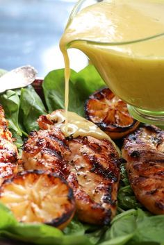Grilled Limoncello Chicken