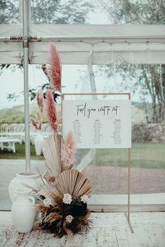 Dee Dan by Ivy Road Photography modern boho seating chart Wedding Trends, Boho Wedding, Wedding Table, Floral Wedding, Wedding Flowers, Dream Wedding, Lesbian Wedding, Hawaii Wedding, Wedding Menu