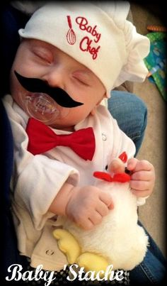 Mustache Pacifier  Baby Mustache  The Wise by ImSeriouslyJoking, $10.50