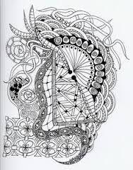 Resultado de imagen para dibujos zentagles