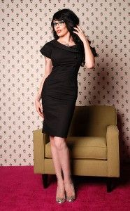 """Wiggle Dress - The Vintage Reproduction """"Lust""""..."""