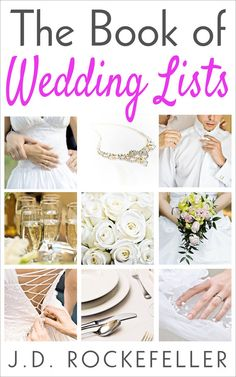 eBook  The Book of Wedding Lists by REALMAGICSPELLS on Etsy