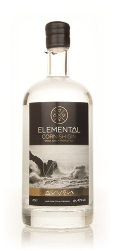 Elemental Cornish Gin - Master of Malt Gin Bottles, Vodka Bottle, Gin Distillery, Gin Tasting, Best Gin, Gin Brands, Master Of Malt, Gin Bar, Cocktails