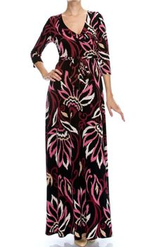 Details & CareFor any occasion you may have, it's easy to pull together a complete look with our maxi wrap dress. This is great assortment of styles and you will definitely find the best fit!・ 95% polyester, 5% spandex.・ Hand wash cold. Hang o...