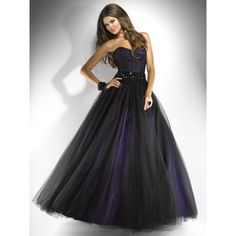 Shop for prom and formal dresses at PromGirl. Formal dresses for prom, homecoming party dresses, special occasion dresses, designer prom gowns. Prom Party Dresses, Homecoming Dresses, Bridesmaid Dresses, Dress Prom, Wedding Dresses, Pretty Dresses, Beautiful Dresses, Purple And Black Dress, Strapless Dress Formal