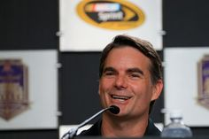 Jeff Gordon Photos - Jeff Gordon, driver of the #88 Axalta Chevrolet, speaks to the media before practice for the NASCAR Sprint Cup Series Crown Royal presents the Combat Wounded Coalition 400 at the Brickyard at Indianapolis Motor Speedway on July 23, 2016 in Indianapolis, Indiana. - Indianapolis Motor Speedway - Day 1