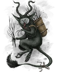 Something wicked this way comes. Dark Christmas, Christmas Art, Christmas Ornament, Yule Cat, Satan, Germany Tattoo, Macabre Art, Creepy Cute, Art Inspo