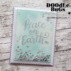 Today we're sharing a fun shaker card we created using the Fuse Tool. We love this handy little tool! It's great for pocket scrapbooking A...