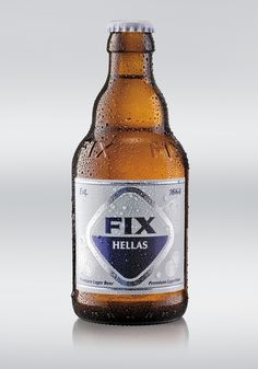 Fix Hellas Premium Lager Beer...with the same Bavarian recipe