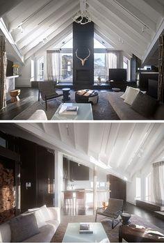 Scandinavian interior design style.