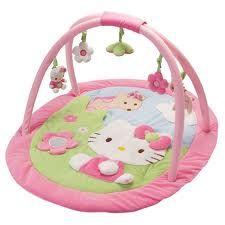 gimnasio para bebe hello kitty